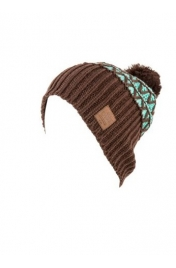 Nitro TURBO POM HAT coffee/aqua
