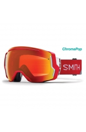 SmithOptics I/O7 Fire Split ChromaPop Everyday Red Mirror