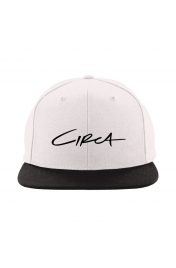 Sapca Circa Select Snap Back White Black