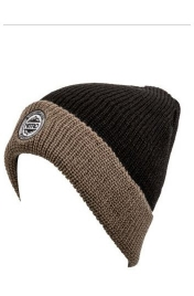 Caciula Nitro Cuffed Hat Black/Smoke