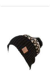 Caciula Nitro TURBO POM HAT black/khaki