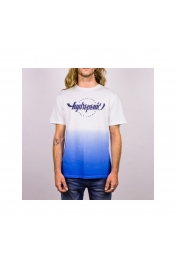Tricou Hydroponic Only Locals White/Blue S M